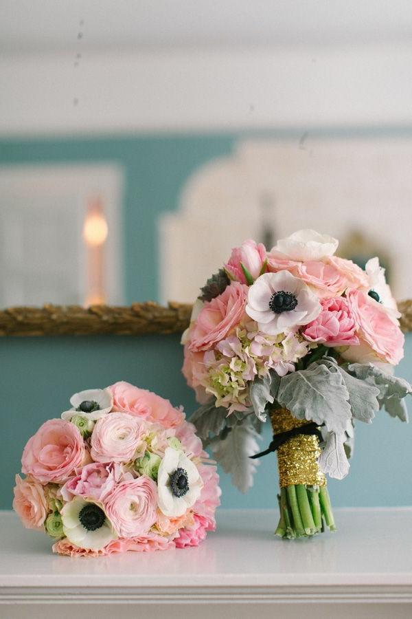 Décoration-florale-originale- mariée-cérémonie-diy