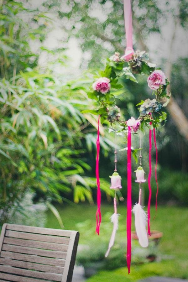 Décoration-florale-originale- mariée-cérémonie