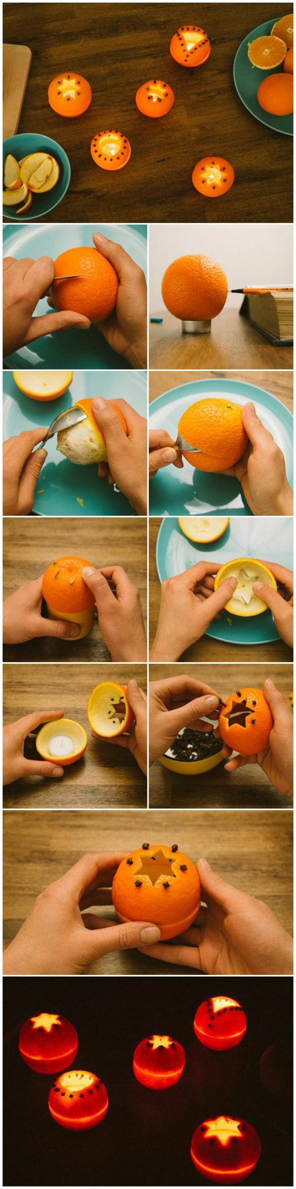 Développer-votre-créativité-avec-bougie-jolie-pour-décoration-orange