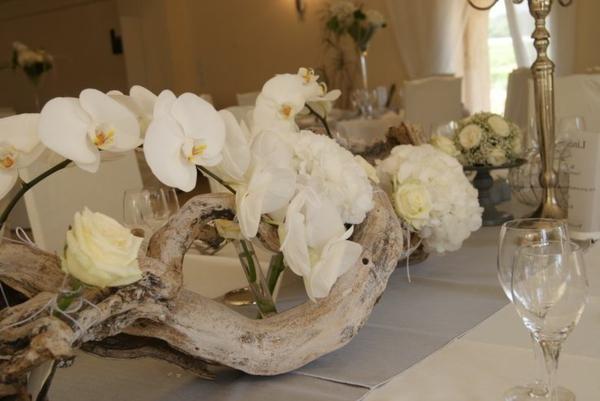 Fleur-mariage-composition-jolie -blanc-orhidée