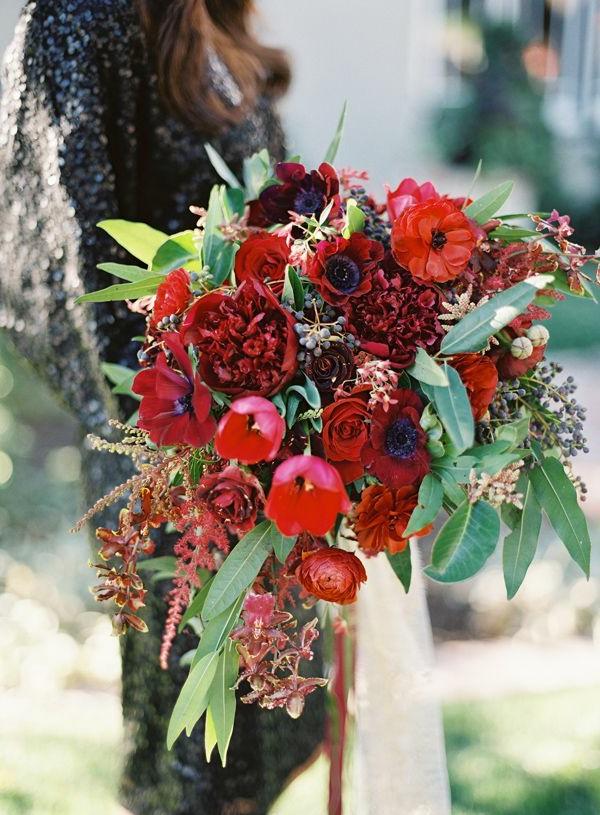 Fleur-mariage-composition-jolie-rouge