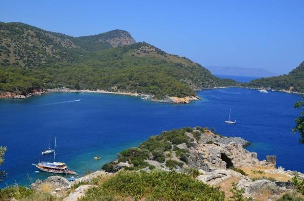 Haute-temperature-Antalya-Turquie-il-fait-beau