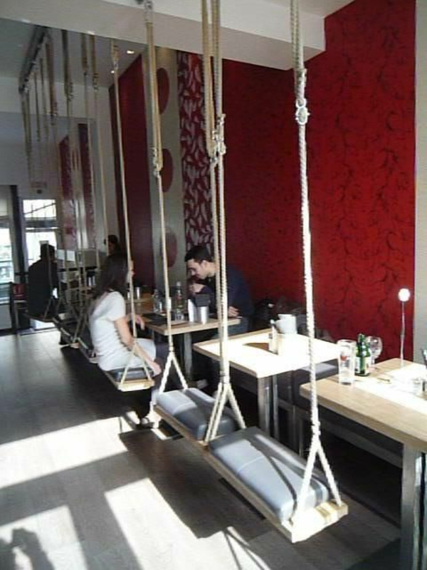 Idée-créative-décoration-avec-la-balançoires-salle-à-manger