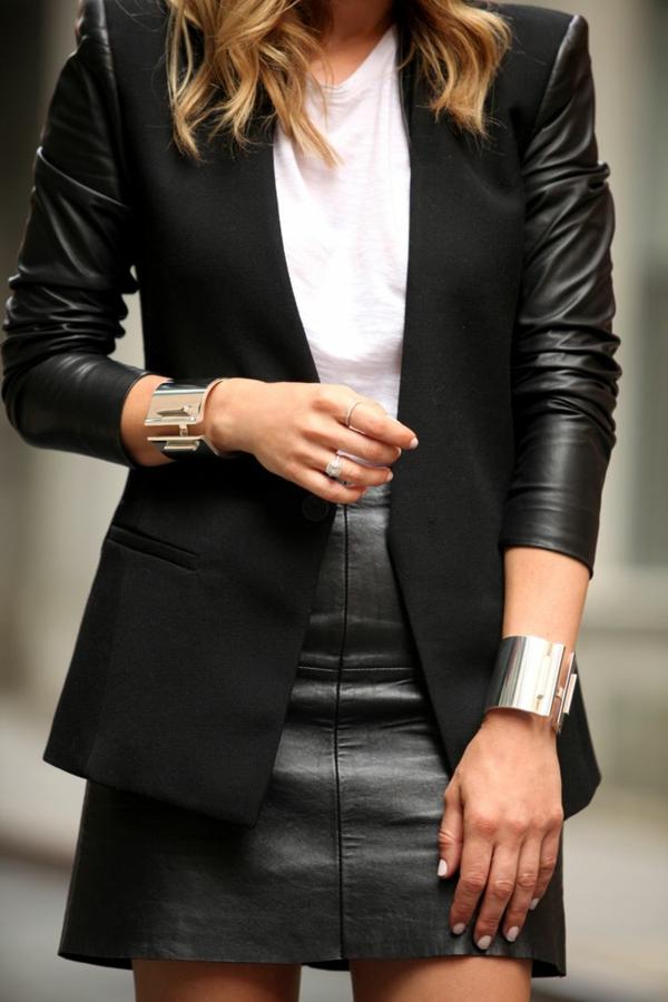 Jupe-cuir-vetements-jolies-style-tout-en-noir