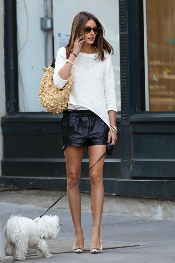 Jupe-en-simili-cuir-s-habiller-bien-femme-chien