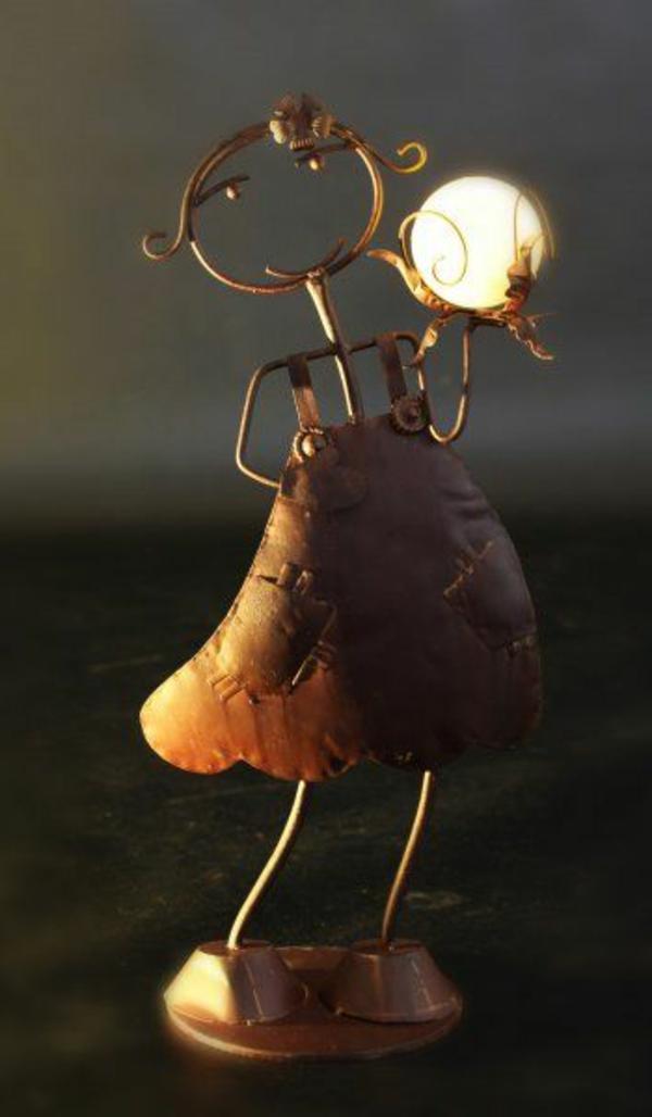 Lampe-solaire-décorative