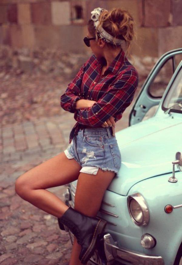 Le-vintage-à-la-mode-tenue-jolie-danser-swing-retro