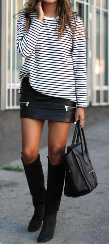 Tendances-tenue-complete-jupe-en-cuir-bottes