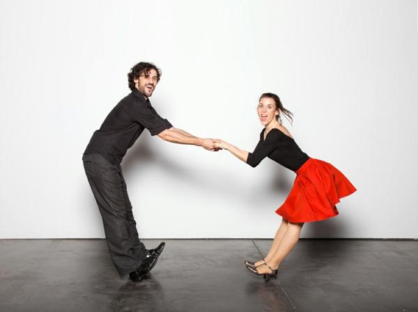 Tenue-de-swing-danse-moderne-et-vintage-robe