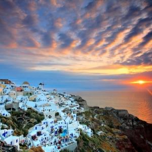 L'Ile de Santorin - voyage en 55 images