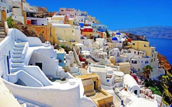 Vacances-à-Santorin-Grèce-mer-egée-vue-panorama