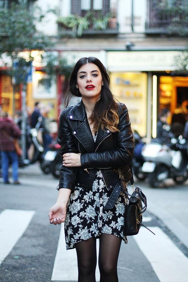 Veste-еn-cuir-pour-un-look-cool-robe
