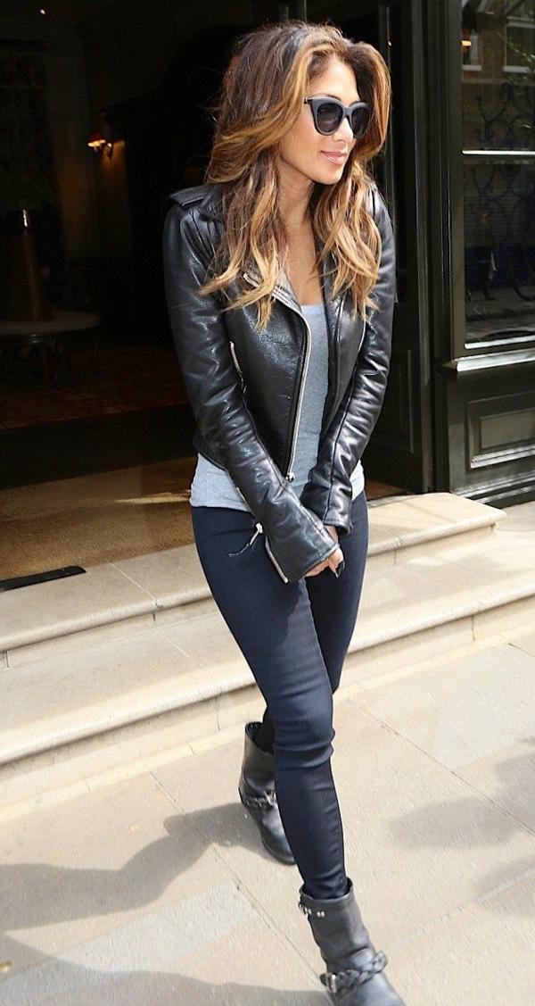 La veste en cuir 89 id es comment la porter - Porter un corset tous les jours ...