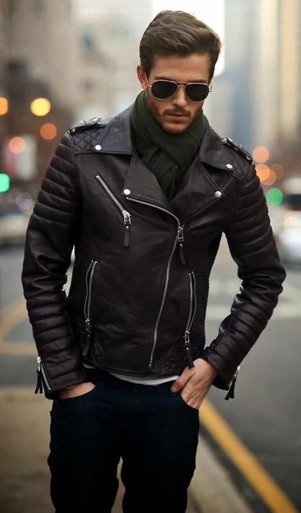 Veste-еn-cuir-pour-un-look-cool-ver-jacket-cuir