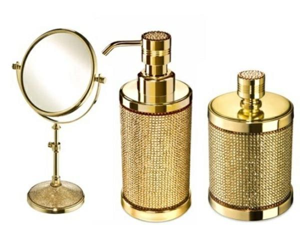 Les accessoires de salle de bain pour un bon temps la for Accessoire salle de bain dore