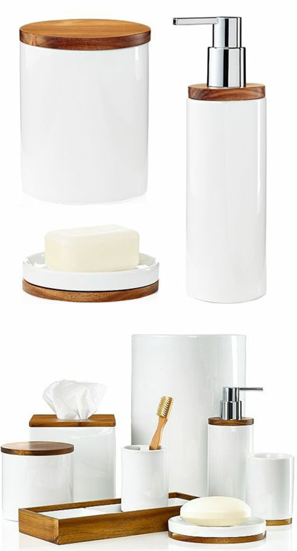les accessoires de salle de bain pour un bon temps la maison. Black Bedroom Furniture Sets. Home Design Ideas