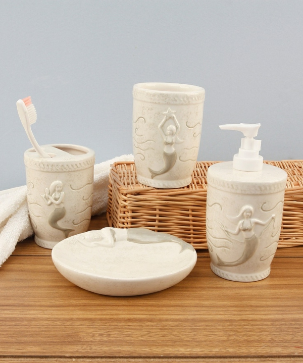 accessoires-de-salle-de-bain-ensemble-à-thème-marin