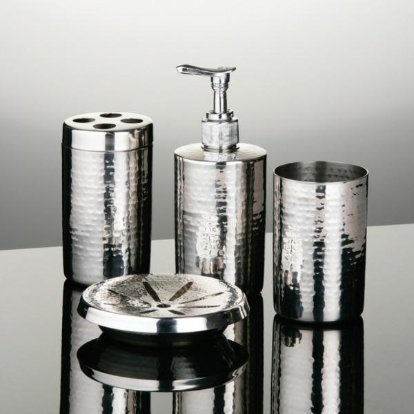 Accessoires salle de bain de luxe for Ensemble accessoire salle de bain