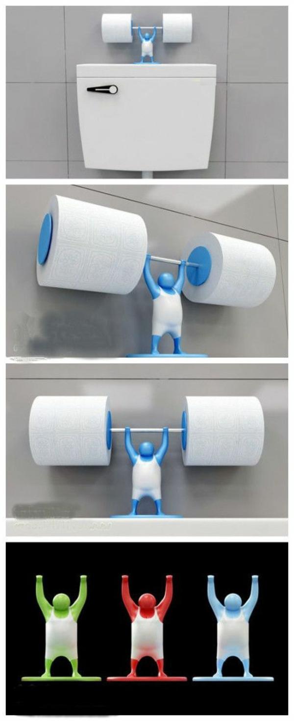 accessoires-de-salle-de-bain-porte-papier-amusant