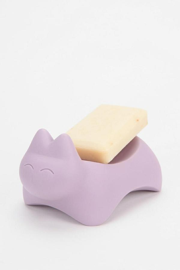 accessoires-de-salle-de-bain-porte-savon-chaton