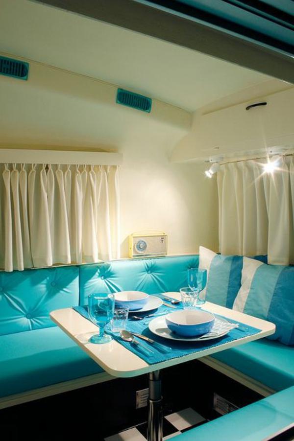 aménagement-fourgon-idée-style-luxe-bleu