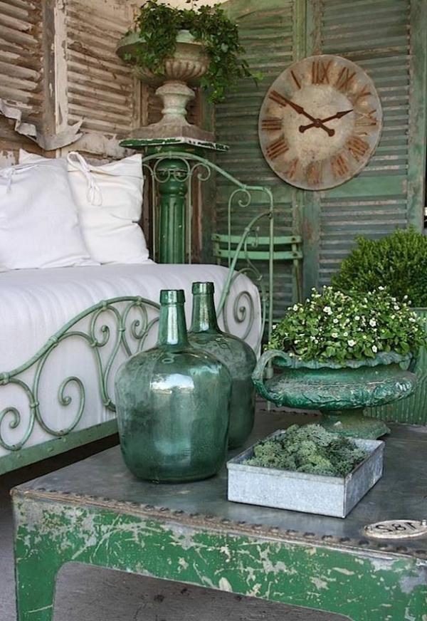 aménagement-jardin-luxe-vintage-ancien