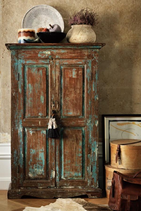 armoire-ancienne-bois-marron-bleu