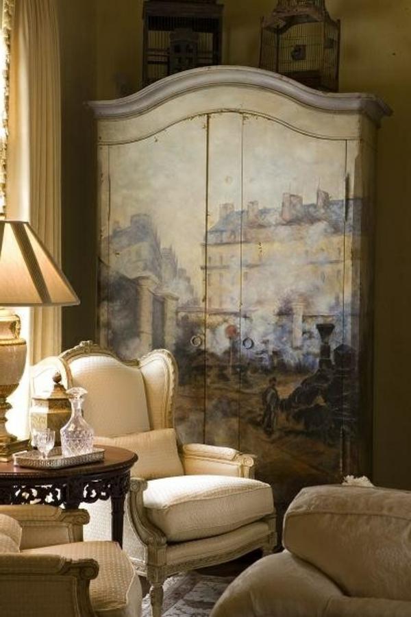 armoire-ancienne-en-bois-salon