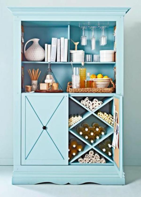 armoire-bleu-vintage-