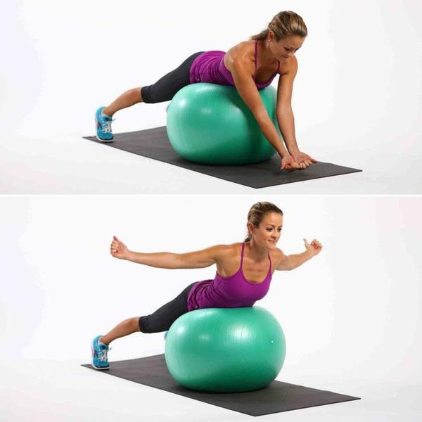 ballon-de-gymnastique-jolis-exercices-avec-fitball