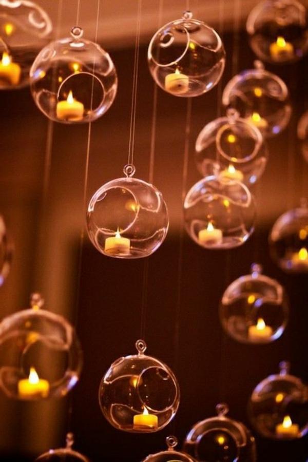 bougies-décoratives-dans-l'air