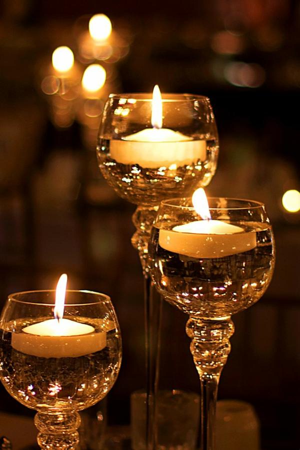 bougies-décoratives-verres-en-glasse