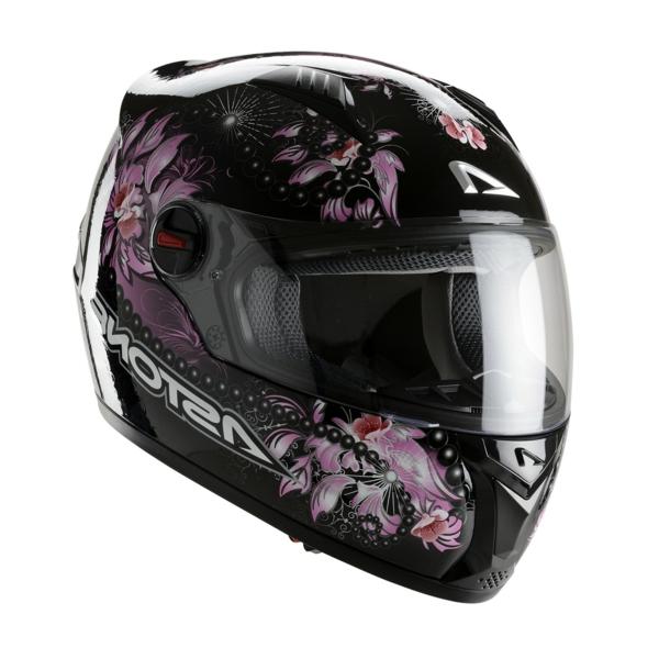 Casque Moto Femme Noir Casque-moto-femme-astone-gt
