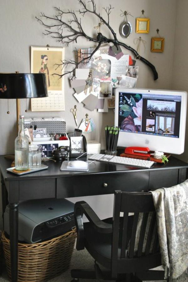 chaise-bois-noir-bureau-confortable