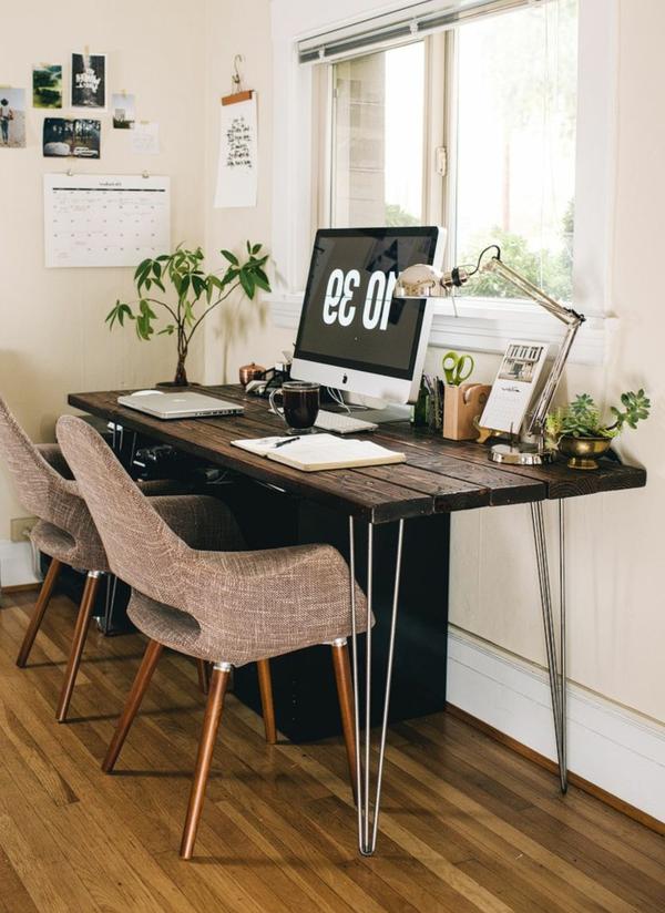 chaise-de-bureau-coin-de-travail-bois