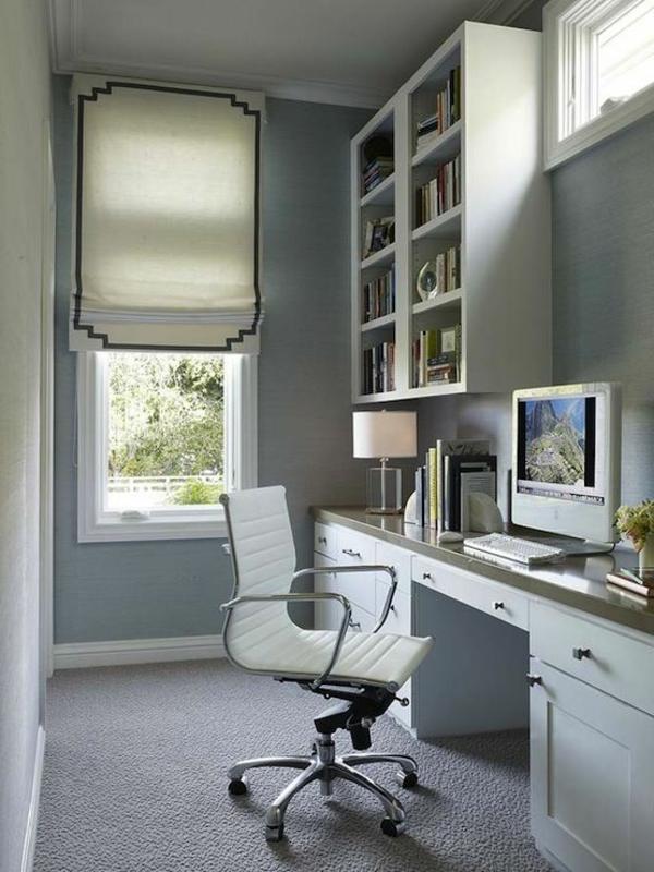 chaise-de-bureau-cuir-blanc-original