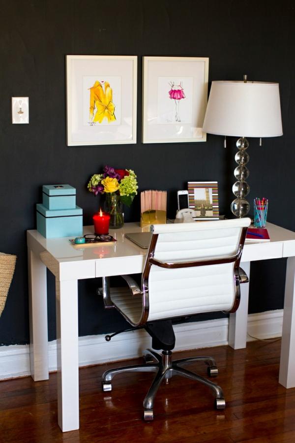 chaise-de-bureau-cuir-blanc