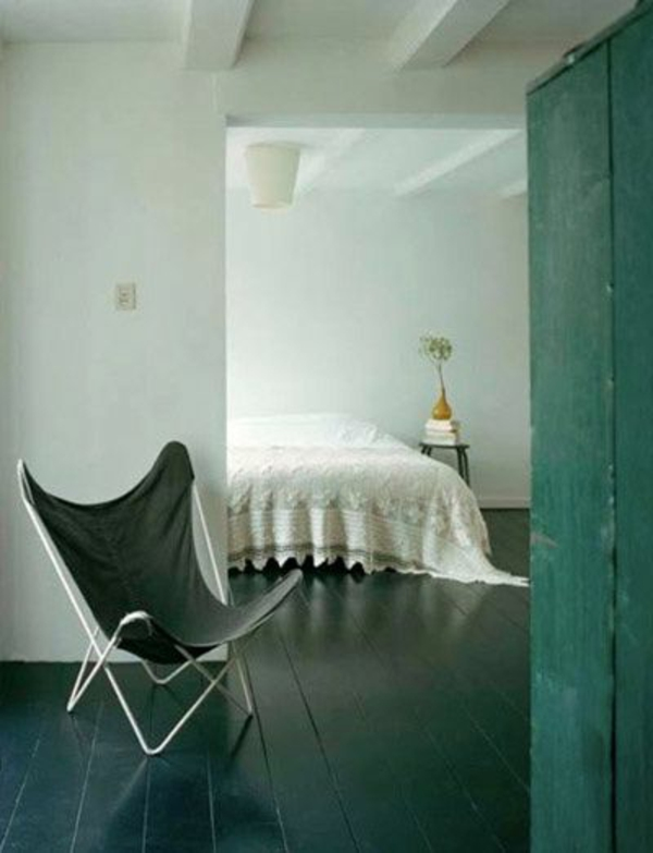 chaise-papillon-verte