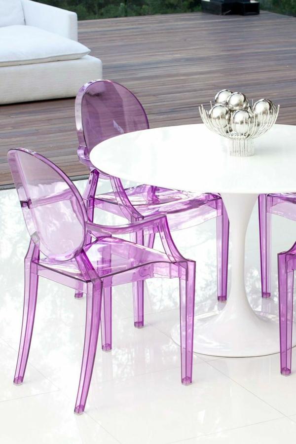 chaise-transparente-équipement-glamour-pour-l'extérieur