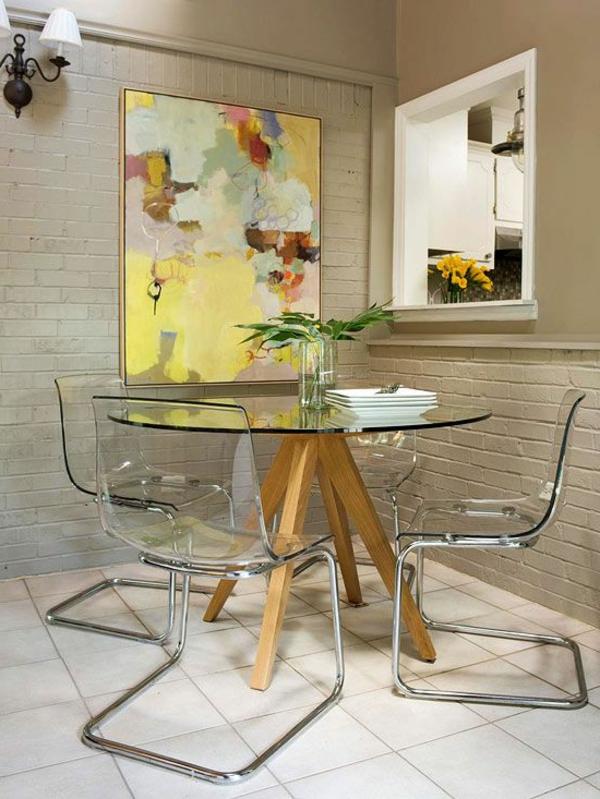 Retrouvez la chaise transparente un beau bijou pour votre int rieur - Chaise en verre transparente ...