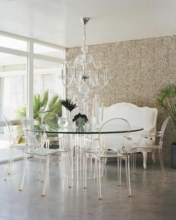 Retrouvez La Chaise Transparente Un Beau Bijou Pour Votre Interieur