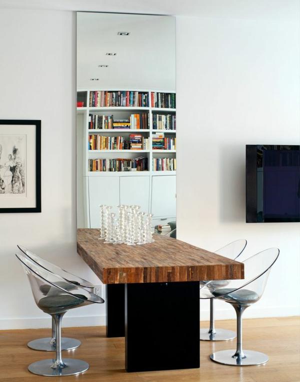 chaise-transparente-intérieur-original