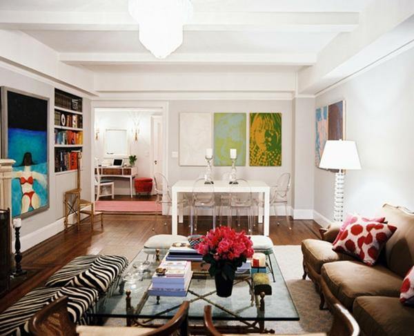 chaise-transparente-unique-salle-de-séjour-et-salle-de-déjeuner