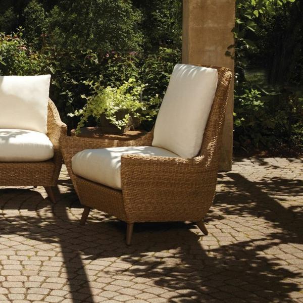 chaise-tressée-chaises-en-rotin-pour-l'extérieur
