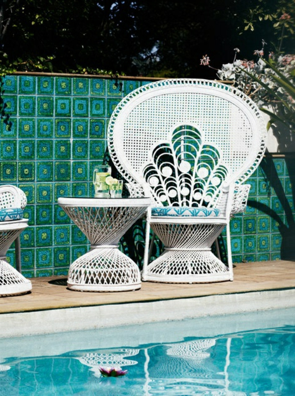 chaise-tressée-chaises-tressées-blanches