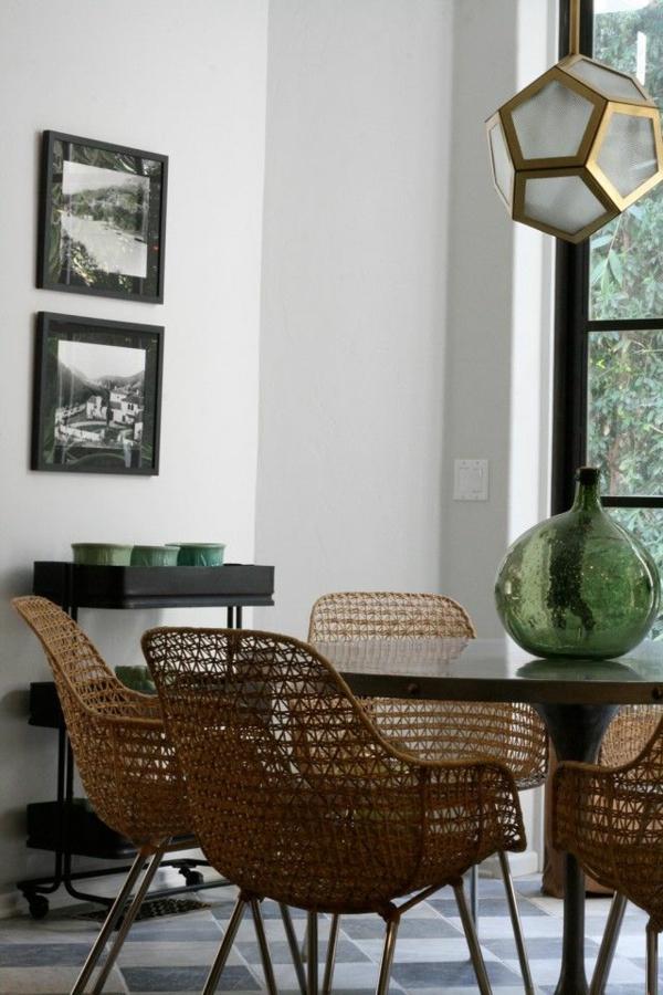 chaise-tressée-des-chaises-modernes-tressées