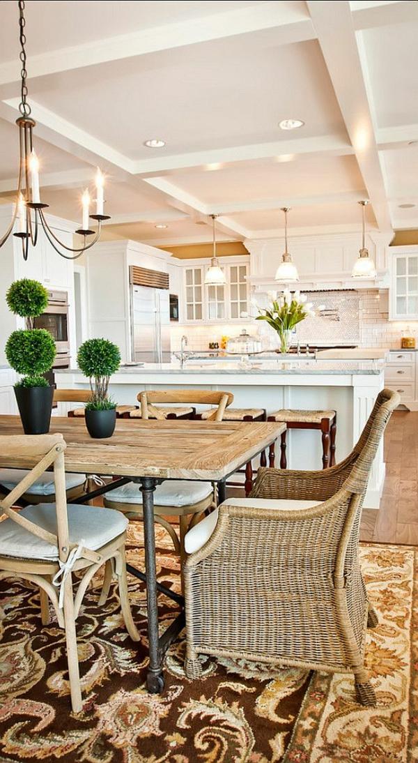 chaise-tressée-salle-de-déjeuner-et-cuisine