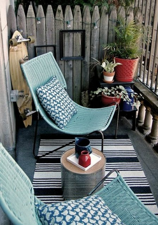 Chaise Balcon Siege Relax Jardin