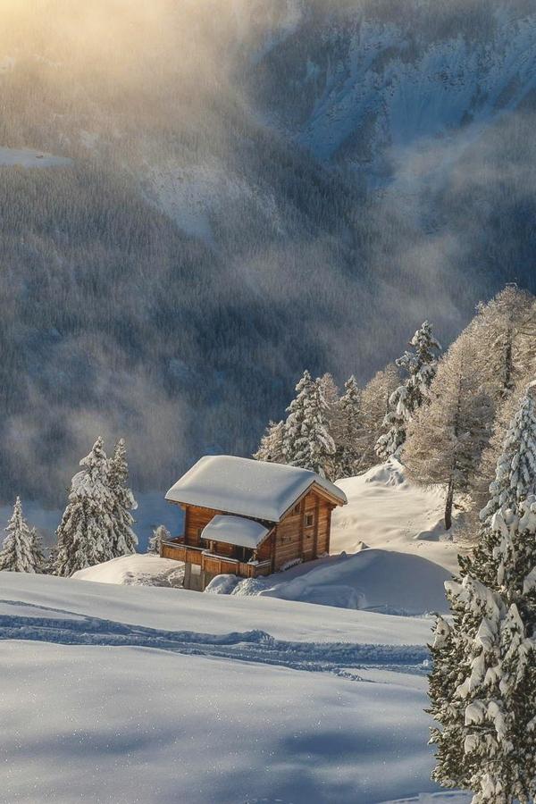 chalet-suisse-chalet-montagnier-en-Suisse
