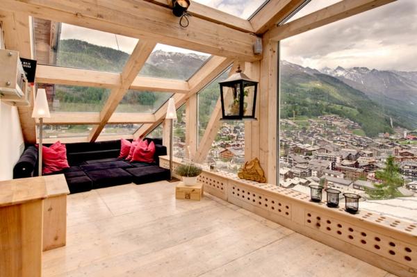 chalet-suisse-fenêtres-panoramiques